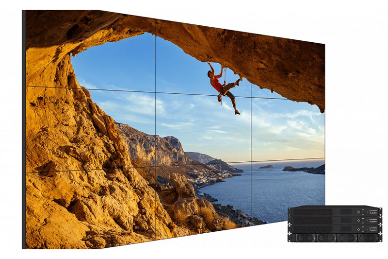LCD Video Walls with brilliant color and clarity
